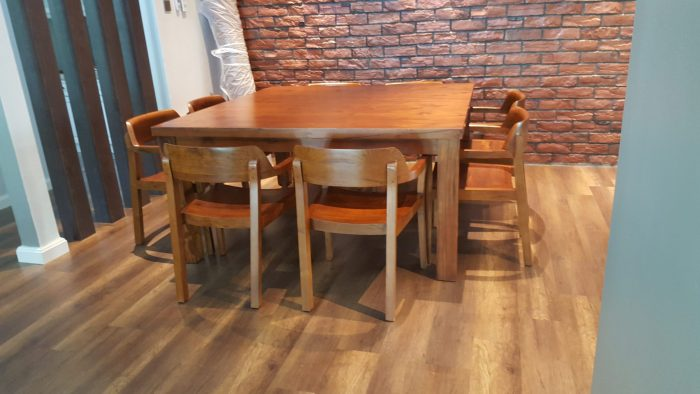Square dining table in Shah Alam
