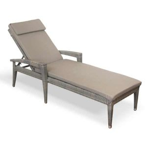 Lounger wicker