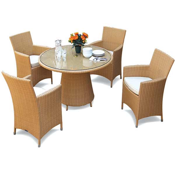 wicker dining table in Kl, bangsar, Mont kiara