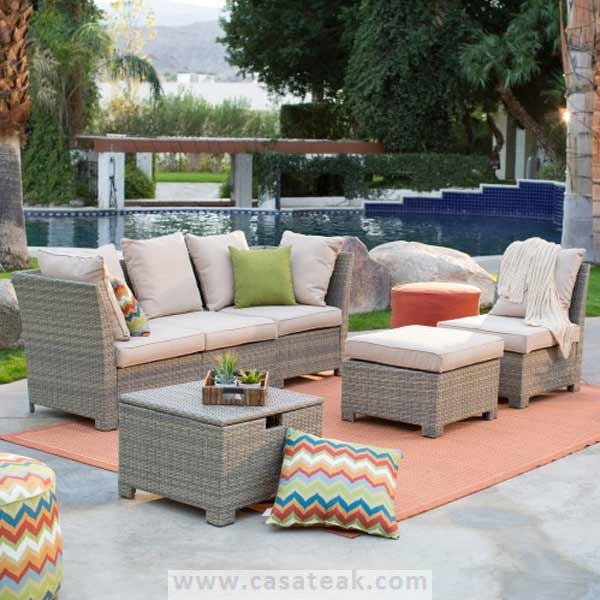 Maze wicker sofa set in Malaysia, wicker furniture in Petaling Jaya
