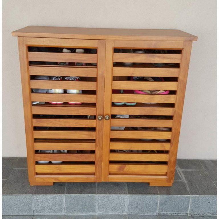 teak shoe rack in Malaysia