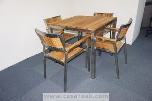 Teak Wood Outdoor Dining Set