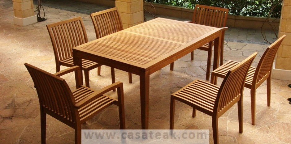 outdoor dining set teak wood outdoor dining table garden