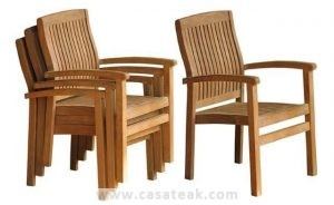 Elegant Stacking chairs