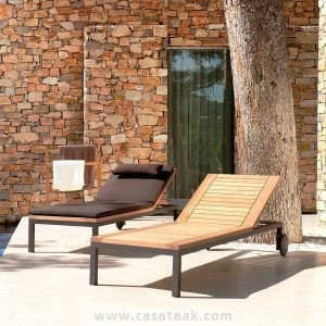 Stainless Steel Loungers, Outdoor loungers KL