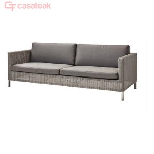 Zylo wicker 3 seater sofa