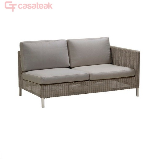 Wicker Double Seater Sofa