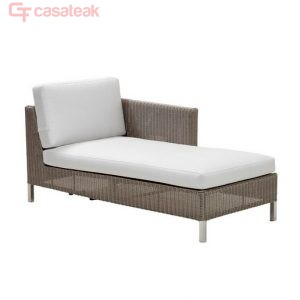 Zylo wicker corner Sofa