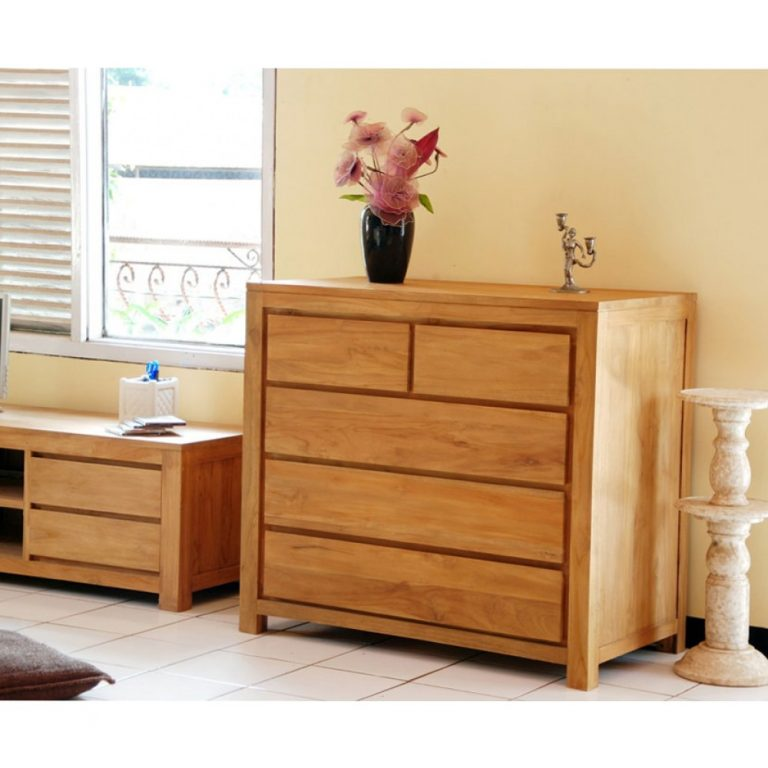 Alaska chest of drawers in Malaysia, teak wood chest of drawers