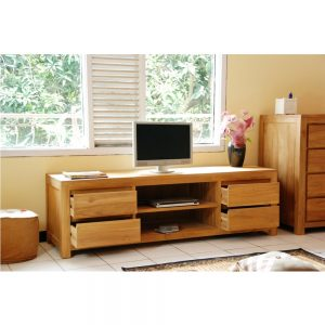 Teak wood Tv Cabinet, tv Console, Teak indoor furniture