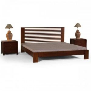 Bed frame in teakwood