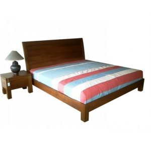 King bed teak wood