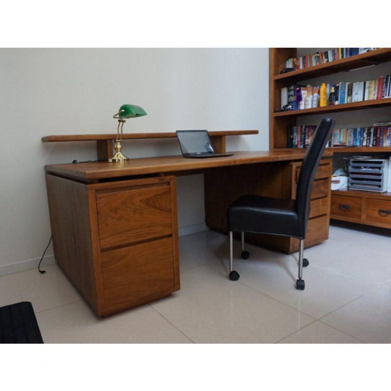 Office Desk Teak wood