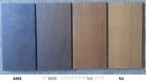 teak color samples
