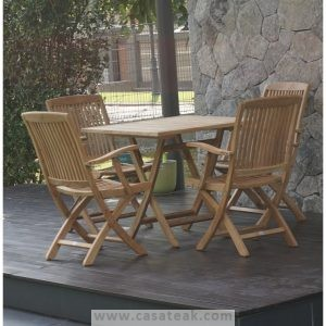 Teak wood outdoor dining table Outdoor Dining set Malaysia