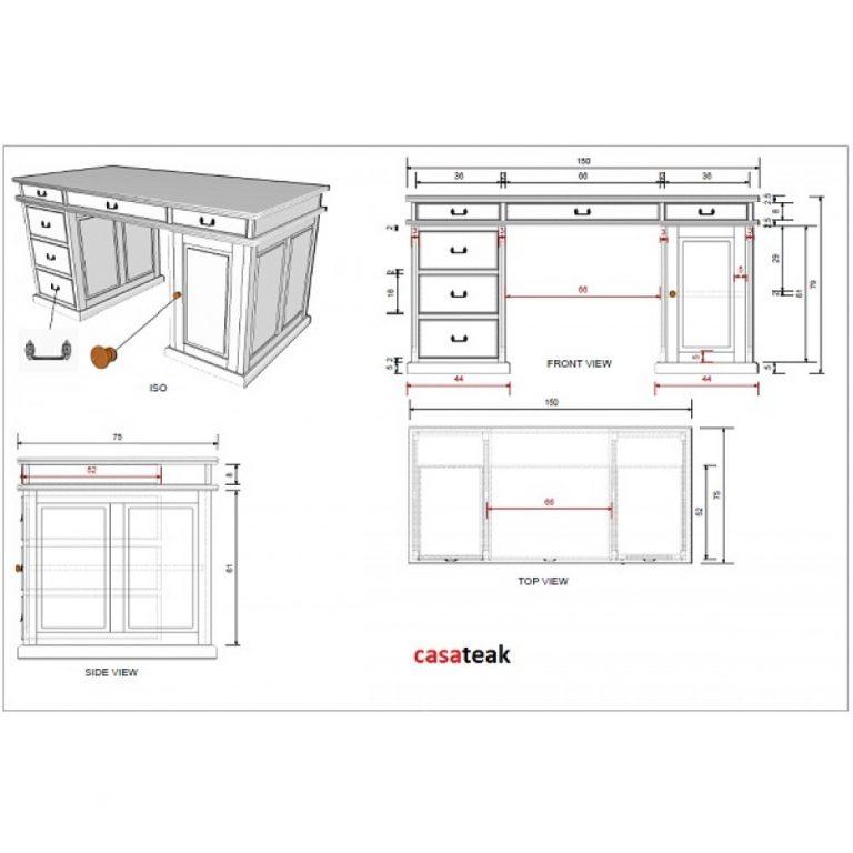Custom make teak furniture