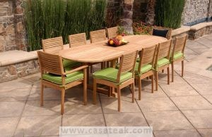 Dining table for garden