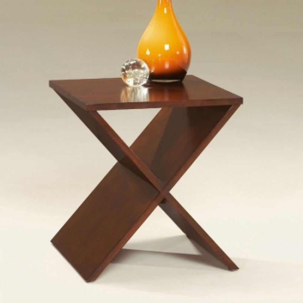 Diagonal Side Table Teak Wood Sidetables By Casa Teak
