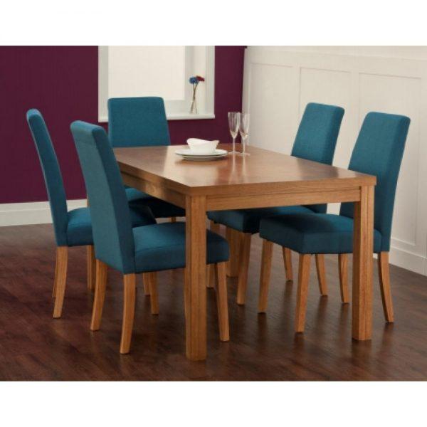 Dining set in Kl, teak wood indoor dining furniture