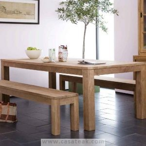 EC Dining Set, Dining set teakwood