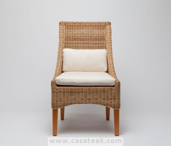 Babylon wicker dining chair in selangor