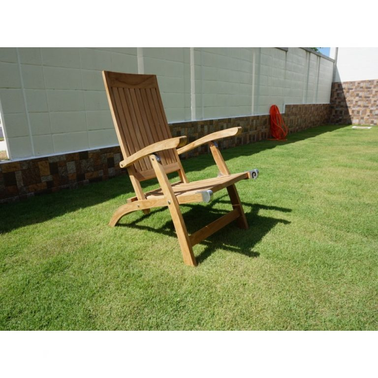 recliner wooden chair for patio in PJ