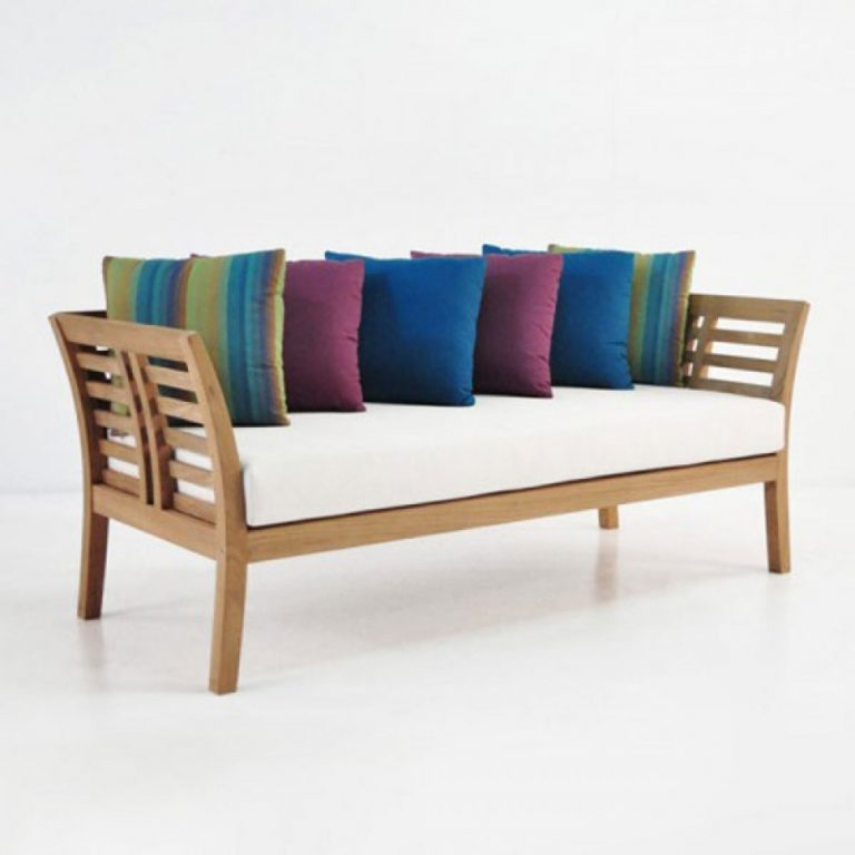 daybed, teak wood sofa bed in kl
