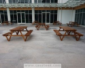 Picnic table , garden table with benches