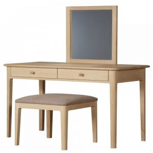 teak dressing table
