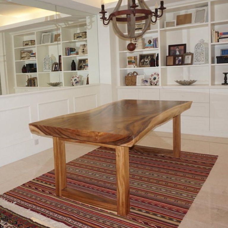 Hampshire Suar Table, suar wood dining table Malaysia