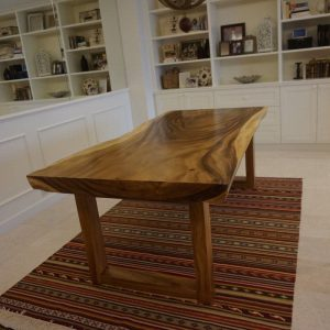 suar wood table, dining table, indoor table KL