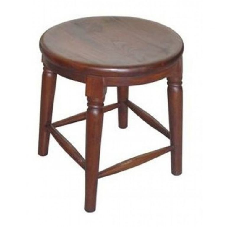 Wooden round stools furniture