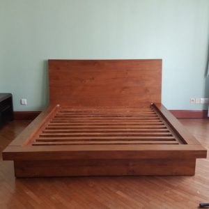 Designer wooden bed designs