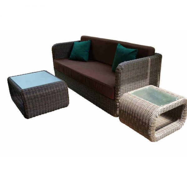 wicker sofa set, garden sofa, patio furniture, outdoor pool furniture