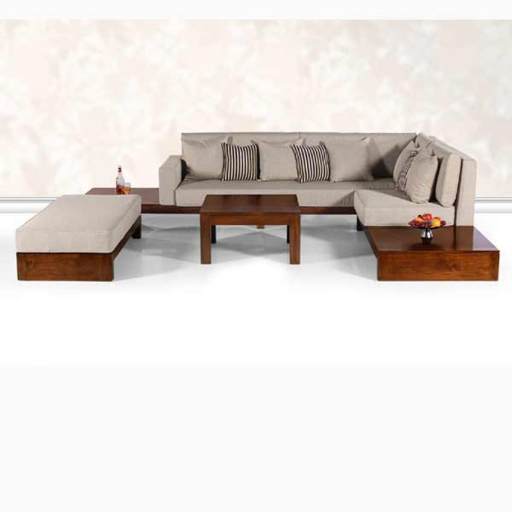 L shape sofa ss 18 05 casateak home furniture store Home furniture online coimbatore