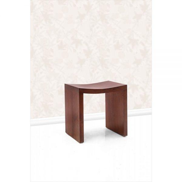 Teak stool for dining room