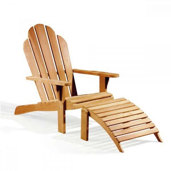 teak wood lounger for pool side