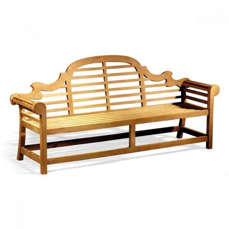 Lutyens Teak Bench Wood