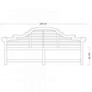 Teak wood garden bench, teak furniture malaysia, outdoor furniture,