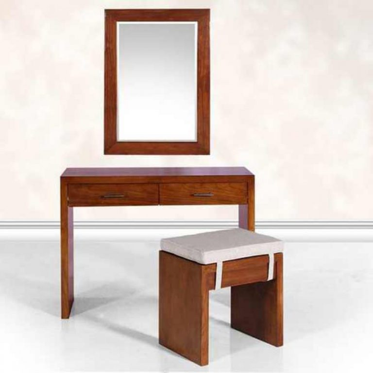 modern teak dressing table
