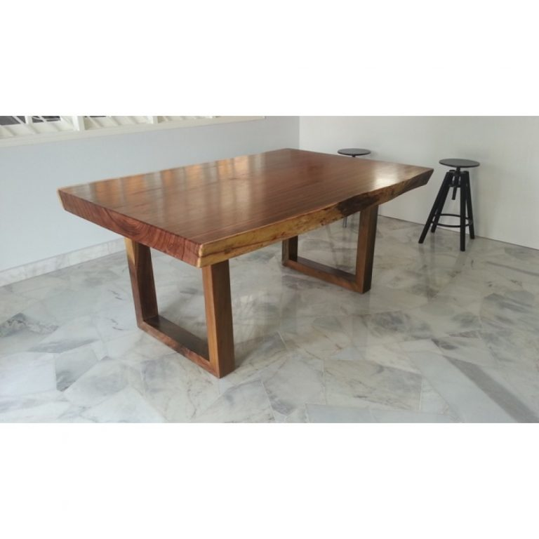Suar wood Dining Table, Raintree Dining Table Malaysia