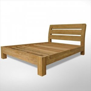 Reclaimed Teak furniture, teak queen size bed