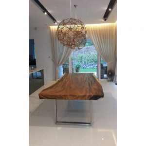 Suar wood , Moneky wood furniture, Raintree dining Table