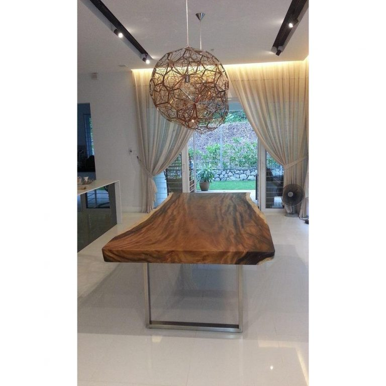 Suar wood , Moneky wood furniture, Raintree dining Table