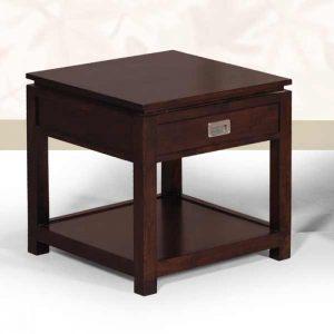 bedside tables, teak side table
