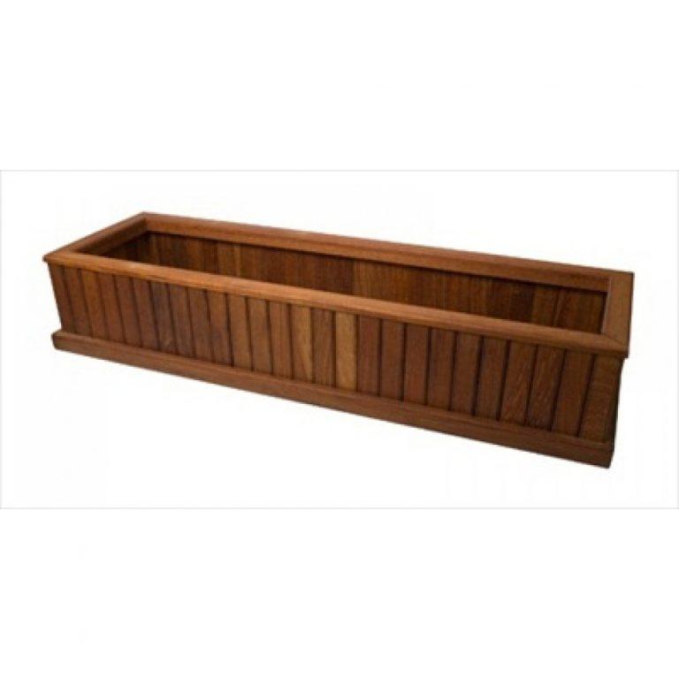 Planter pot, teak wood garden furniture