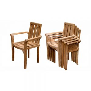 solid wooden chair, stacking chairs