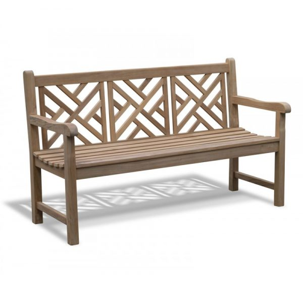 Teak bench, outdoor bench, solid teak wood furniture suitable for pool furniture