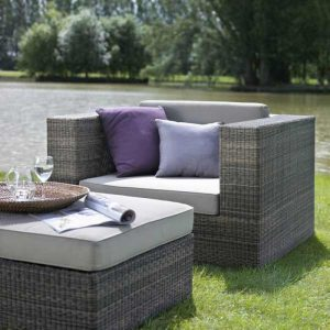 Wicker furniture, wicker sofa, outdoor garden sofa kl