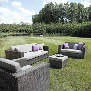 wicker sofa in kl, outdoor garden sofa, garden furniture